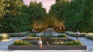 Реконструкция Ботанического сада Алматы: Байбек ознакомился с планом (20.05.19)
