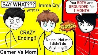 Gamer vs His Non Gamer Mom