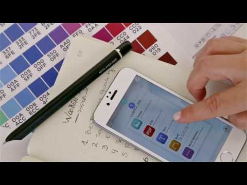 Moleskine Smart Writing Set (A5, Pointillés)
