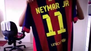 FC BARCELONA 2014-15 Home Jersey(Neymar Jr)