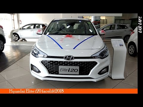 Hyundai Elite i20 2018 Facelift Hindi Review || Car Cafe
