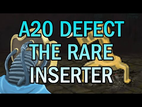 An Inserter Run?! | Ascension 20 Defect Run | Slay the Spire