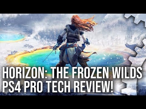 [4K HDR] Horizon: The Frozen Wilds PS4 Pro – Tech Breakdown and Engine Analysis