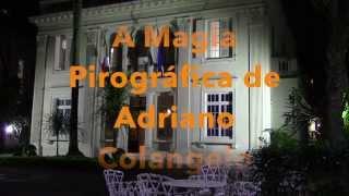 A Magia pirográfica de Adriano Colangelo