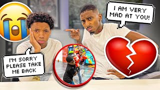 MYKEL CAME BACK AND WE HAD A VERY SERIOUS TALK...💔 (THE KIDS HAD A BOXING MATCH)🥊