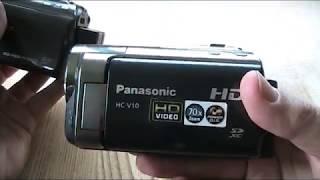 Panasonic HC-V10: Secret Door! Secret Menu! Part Two