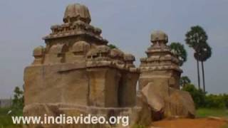 Pidari rathas at Mahabalipuram, Chennai