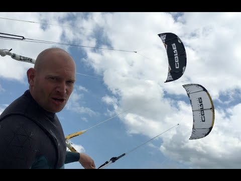 Review Core Kiteboarding XR5 vs XR4.