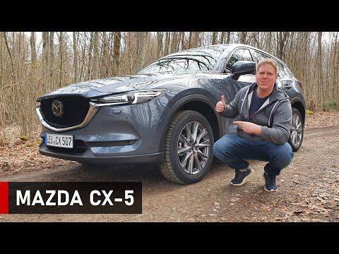 Der NEUE 2021 Mazda CX-5 SportsLine - Review, Fahrbericht, Test
