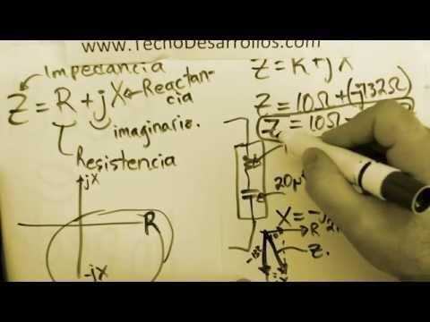 Diferencia entre Reactancia e Impedancia parte 1