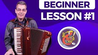 Irish Accordion Lesson #1 - [The Basics] Learn With Alan Kelly