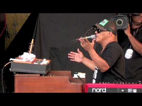 "Dumpstaphunk ""Put It In The Dumpsta"" at JazzFest 5/3/2012"