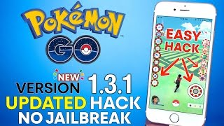 Pokemon GO 1.3.1 Hack NO Jailbreak! Tap To Walk, Map Hack & More!