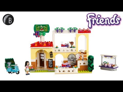 Vidéo LEGO Friends 41379 : Le restaurant de Heartlake City