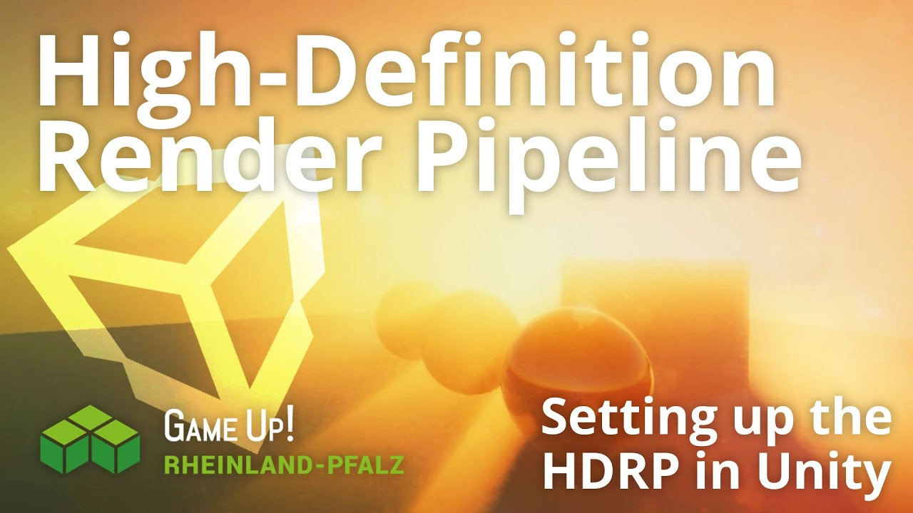 Unity Tutorial - HDRP Setting up a scene!
