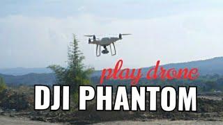 Test dji phantom // jalan jalan teriknya matahari // play dji #hendranandra drone.