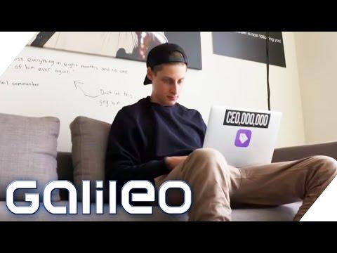 Ben Pasternak - Startup-Millionär mit 16 | Galileo Lunch Break