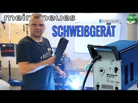Einhell Schutzgas Schweißgerät BT GW 190 D unboxing review und praxistest