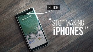 Android Smartphone Makers, Please Stop Making iPhones!