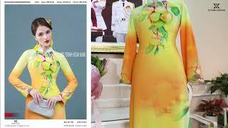 Mẫu áo dài đẹp đang được ưa chuộng nhất hiện nay | Áo Dài Đỗ Trịnh Hoài Nam