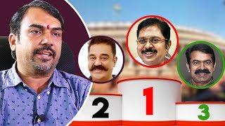 யாருக்கு எவ்ளோ ஓட்டு ? Rangaraj Pandey Interview About Lok Sabha Election | Kamal | Seeman | TTV