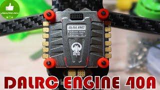 ✔ Современный и Мощный Регулятор - DALRC ENGINE 40A 4 in 1 ESC, BLHeli_32, Dshot 1200!