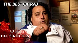 EVERY Raj Moment on Hell's Kitchen
