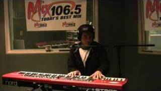 Ferras - Hollywood's Not America - Live at Mix 106.5 - 2/22/08
