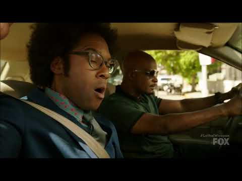 Lethal Weapon S02 Ep08 - Murtaugh & Scorsese are chasing Jerry
