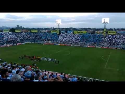 """""""Mirá el recibimiento para Atlético en el debut de la Copa Libertadores 2018"""" Barra: La Inimitable • Club: Atlético Tucumán"""
