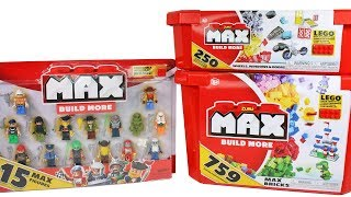 Zuru Max Build More Blocks Unboxing Toy Review