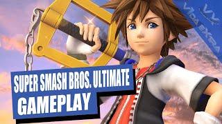 Super Smash Bros Ultimate ¡Completamos el Smash Arcade con Sora de Kingdom Hearts!