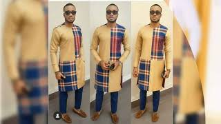 Latest Ankara Styles For Men #senator Suit #agbada #african Traditional Mens Outfits