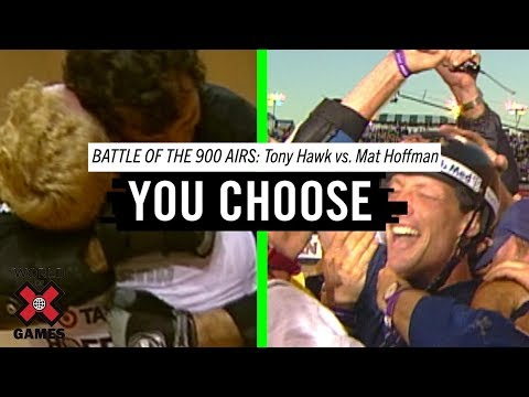 Tony Hawk Vs. Mat Hoffman: Battle of the 900 Airs | X Games