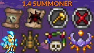 Terraria 1.4 Ultimate Summoner Loadout