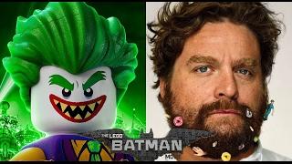 The LEGO Batman Movie | Behind the voices | Actores detrás de las voces