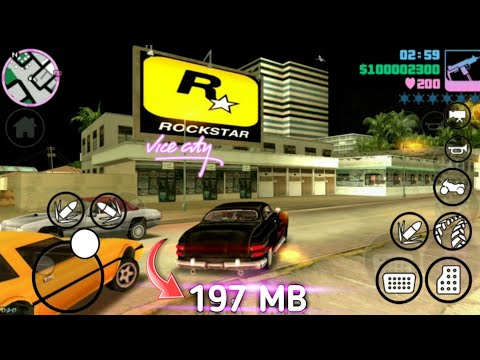 Download GTA vice city in 50 mb with ultra ENB graphics mod+