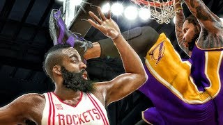 DUNKING ON JAMES HARDEN IN PLAYOFFS! NBA 2K17 My Career Gameplay Ep. 60