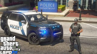 GTA 5 LSPDFR #780 Brand New 2021 Chevy Tahoe Police Patrol