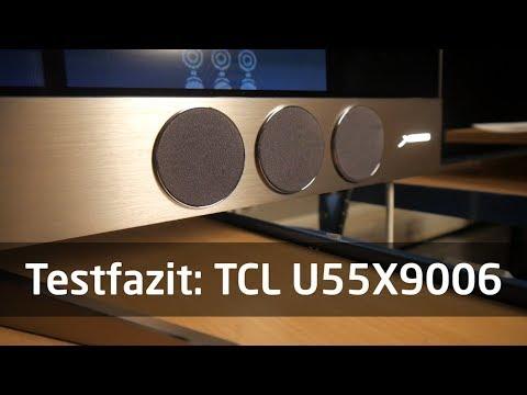 Testfazit: TCL U55X9006 QLED-TV