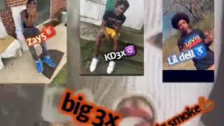 Zay5 KD3x Lil dell big smoke (freestyle)