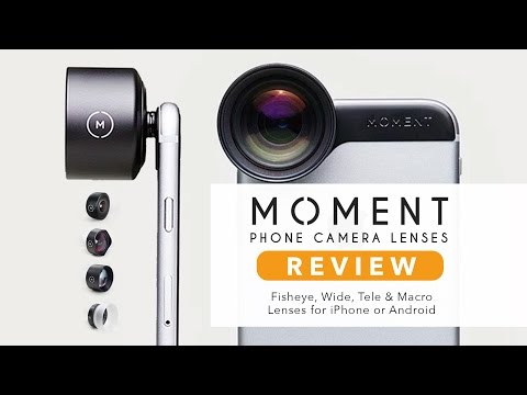 Moment Lenses REVIEW! – Next Level Mobile Photography