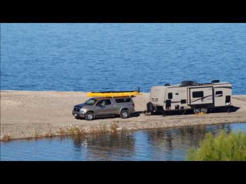 Video Camped at Beautiful Lake Pleasant Regional Park-Maricopa County, Arizona