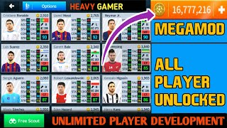 Get Dream League Soccer 2018 V5.054 MegaMod Apk ● All Players Unlocked ● Unlmited Coins