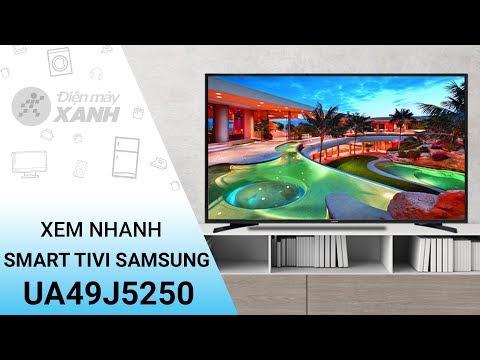 Tivi LED Samsung UA49J5250 - Xem nhanh thiết kế tính năng | Điện máy XANH