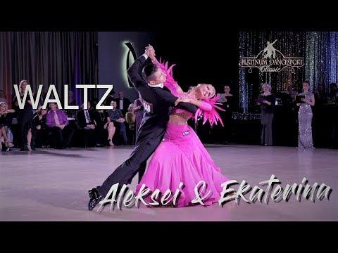 Aleksei Alekseev and Ekaterina Derevleva I Waltz I Platinum 2019