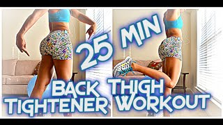 25Min: Back Thigh Tightener Workout (HAMSTRINGS) FULL LENGTH WORKOUT! by HangTightwMarC