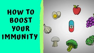 HOW TO BOOST IMMUNITY - How to boost Immune Power Naturally