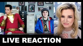 "Shazam ""Secret Lair"" Sneak Peek REACTION"