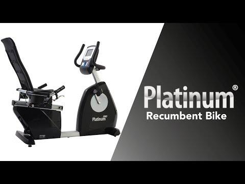 Promovideo: Recumbent TUNTURI PLATINUM Recumbent PRO